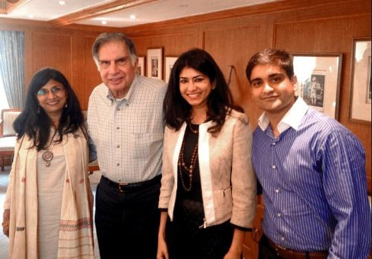 Ratan Tata and his Family