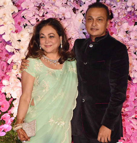 Tina Ambani and Her Husband Anil Ambani