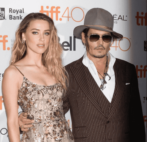Johnny Depp and His Wife