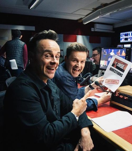 Ant and Dec Phone Number, Email ID, Address, Fanmail, Tiktok and More